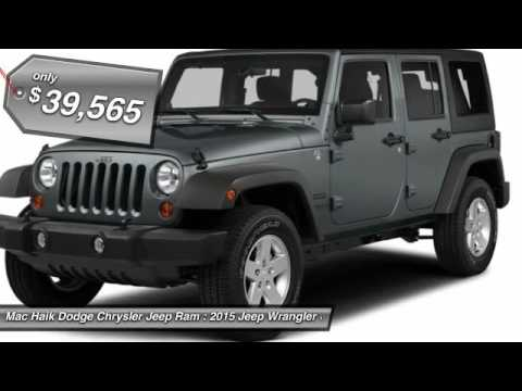 Mac Haik Dodge Temple Tx >> 2015 Jeep Wrangler Unlimited Temple TX FL750239 - YouTube