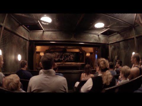 The Twilight Zone Tower of Terror, Disneyland Paris (Full On-Ride + Hotel Story, HD Rear Row)