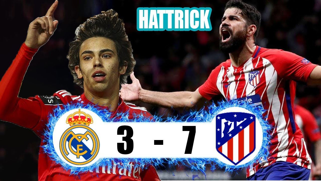 Shock Real Madrid Vs Atletico Madrid 3 7 International Champions Cup Youtube