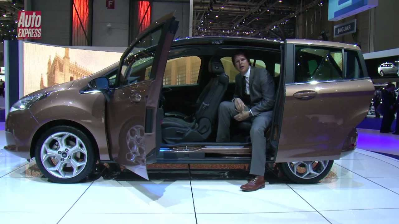 geneva 2012 ford b max auto express youtube. Black Bedroom Furniture Sets. Home Design Ideas