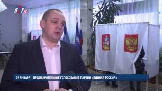 Малаховка - Предварительное голосование 29 января
