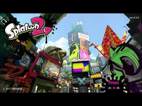 Random Splatoon 2 livestream (SW-2963-5902-0018)