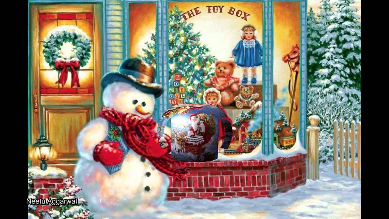 Merry Christmas Greetings To All My Family & Friends - YouTube