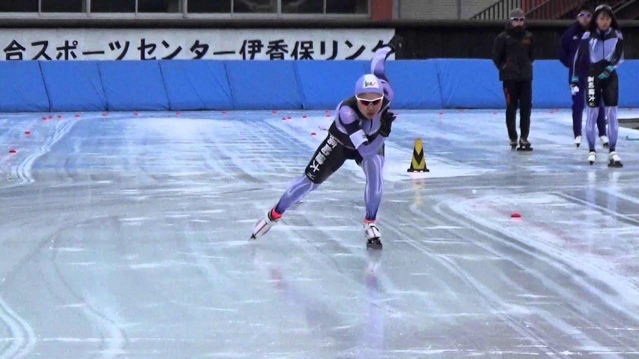 全日本学生スピードスケート選手...