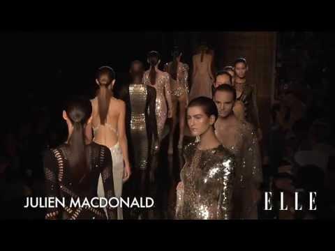 ELLETV-Julien Macdonald 2014 SS Fashion Show