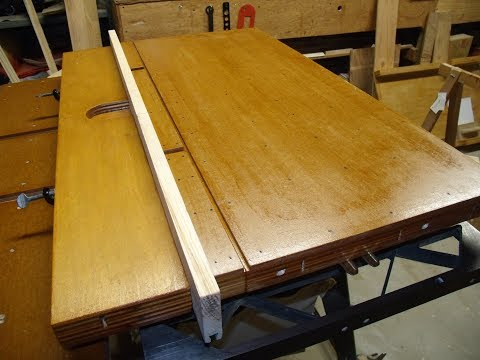 Radial Arm Saw: Tables And Fences (Part 2)