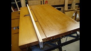 The Radial Arm Saw: Tables and Fences (Part 2)