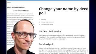 How to Change The Name On Your Driving/Drivers Licence