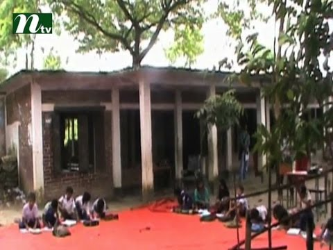 School is risky, students are studying under the open sky I News & Current Affairs