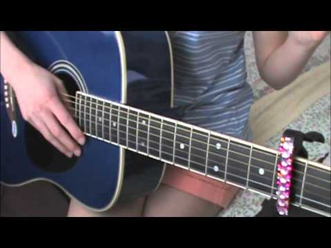 Easy Guitar Tutorial-Counting Stars By One Republic - YouTube