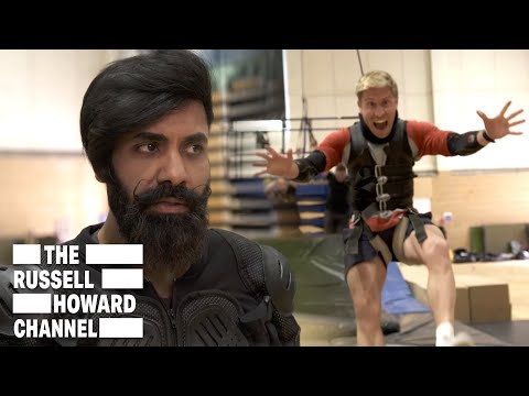 Paul Chowdhry & Russell Howard Go To Stunt School | Play Date | The Russell Howard Hour