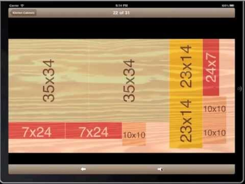 Carpenter Pro For Ipad Plywood Sheet Cutting Calculator