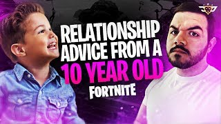 RELATIONSHIP ADVICE FROM A 10 YEAR OLD! - Coolest Kid Ever! (Fortnite: Battle Royale)
