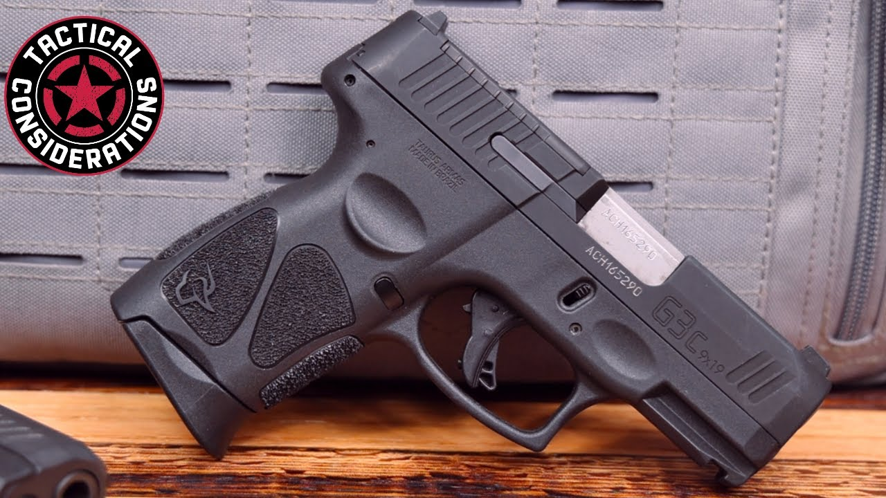 Taurus G3C $253 Of Compact Freedom New Owners Guide