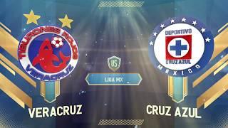 Veracruz 0-0 Cruz Azul | Liga MX | Apertura 2019
