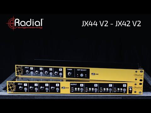 JX42 V2 & JX44 V2 by Radial Engineering