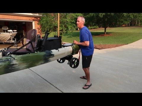 Transporting My Kayak - How To Minimize Heavy Lifting