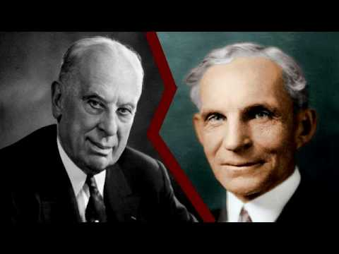 MBA Cases: Henry Ford and Alfred P. Sloan - Car Manufacturing Business