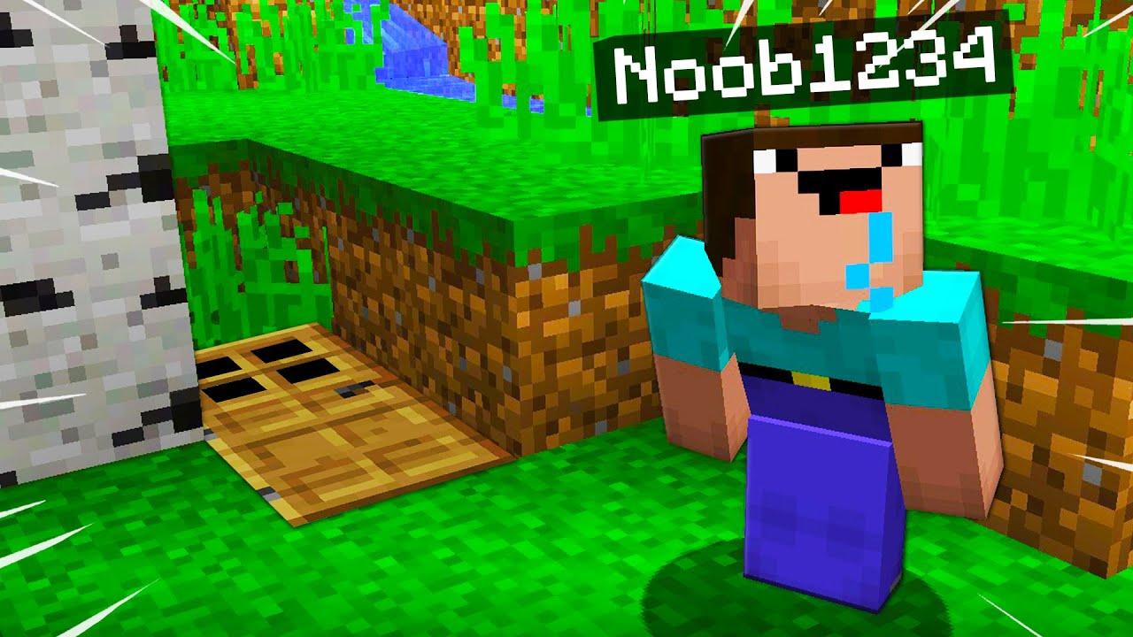 7 Secret Minecraft Houses Noob1234 Will Never Find    Preston Minecraft