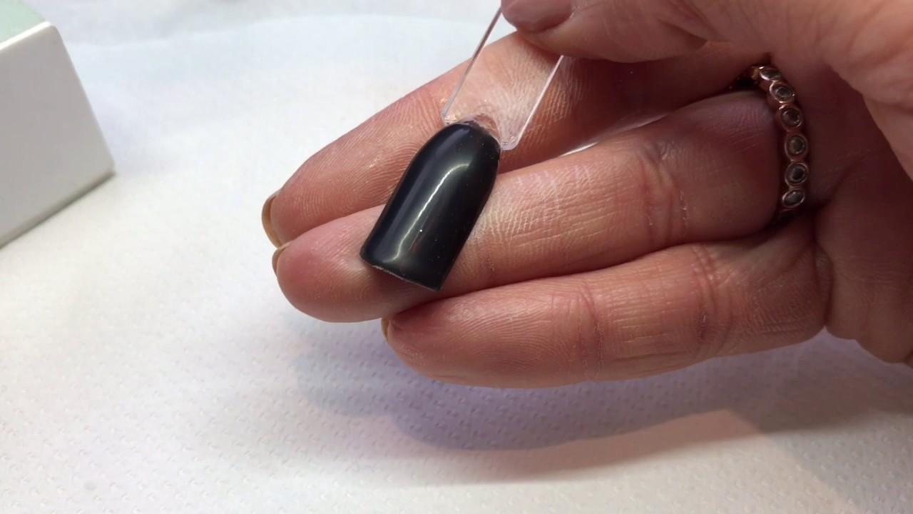 Cnd shellac matt look nails with nail art youtube