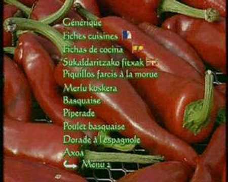 Cuisine traditionnelle du pays basque youtube for Cuisine traditionnelle