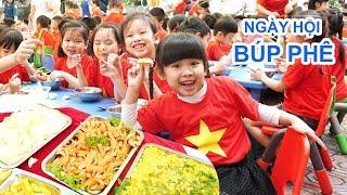 Liên Hoan Buffet Trường Học Bé Bún – Ngày Hội Ẩm Thực và Các Trò Chơi Vui Khỏe ♥ CreativeKids ♥