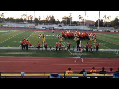 New Hanover High School Lion King Halftime Show- 1