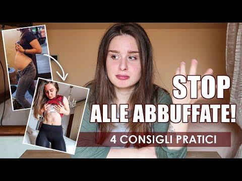 STOP ALLE ABBUFFATE! 4 consigli pratici