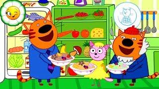 Три Кота Кулинарное Шоу #2  Выбери, чья каша вкуснее!
