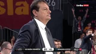 #BSL #Playoff Yarı Final 3. Maç: Galatasaray Doğa Sigorta - Anadolu Efes