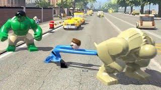 Hulk vs Abomination vs Mister Fantastic (LEGO Marvel Super Heroes)