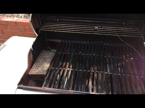 Weber Genesis Ii Best Smoker Box Setup Youtube