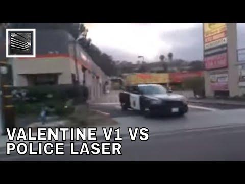 Valentine V1 Radar Detector Vs Police Laser