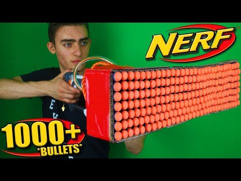 Thumbnail: Nerf War: 1000 Bullet Nerf MOD (*It Actually Works*)