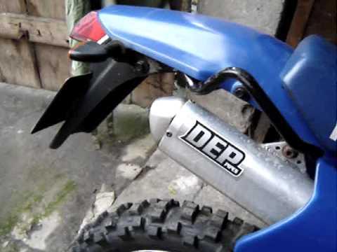 Endschalld/ämpfer DEP TRAIL Yamaha DT 125 RE//X