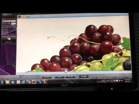 Вышивка крестом.Виноград. (1)Разработка картинки в схему
