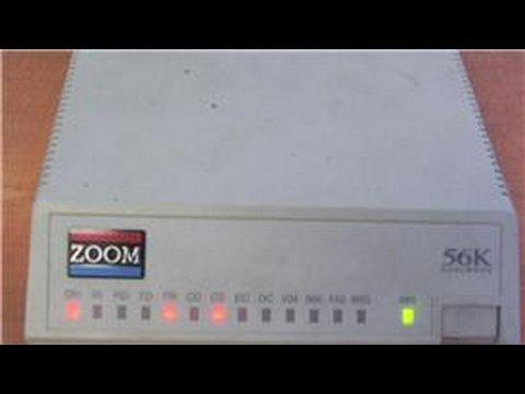Computer Basics : How Does a Computer Modem Work?