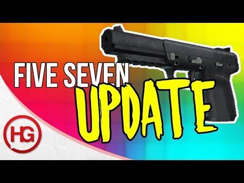 FIVE SEVEN CHANGES! NEW PISTOL UPDATE (CS:GO)