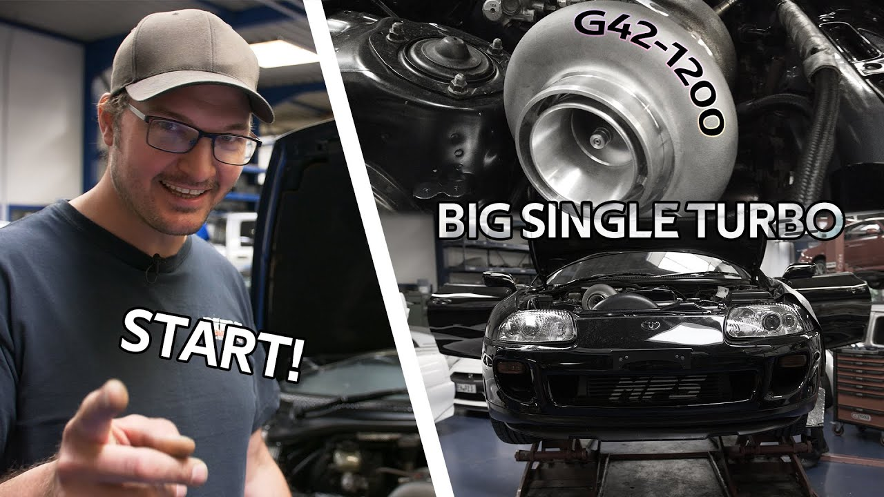 Toyota Supra MK4 - Erster Start! 1000+PS Setup & Sensorik #4 - MPS Engineering