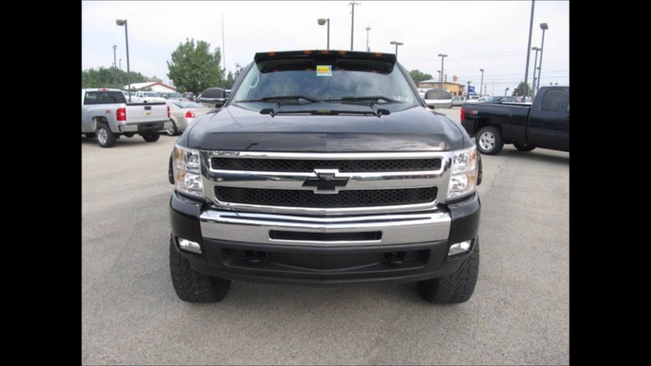 2010 chevy silverado 1500 z71 ltz lifted truck for sale youtube. Black Bedroom Furniture Sets. Home Design Ideas