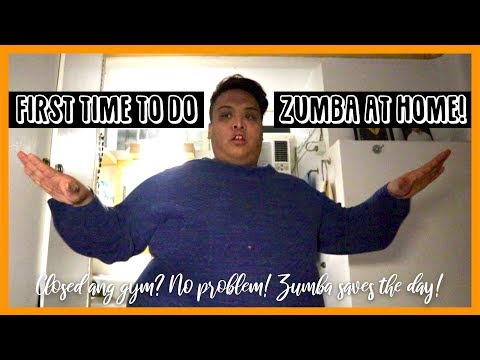 I TRIED TO DO ZUMBA AT HOME WITH THE HELP OF YOUTUBE!