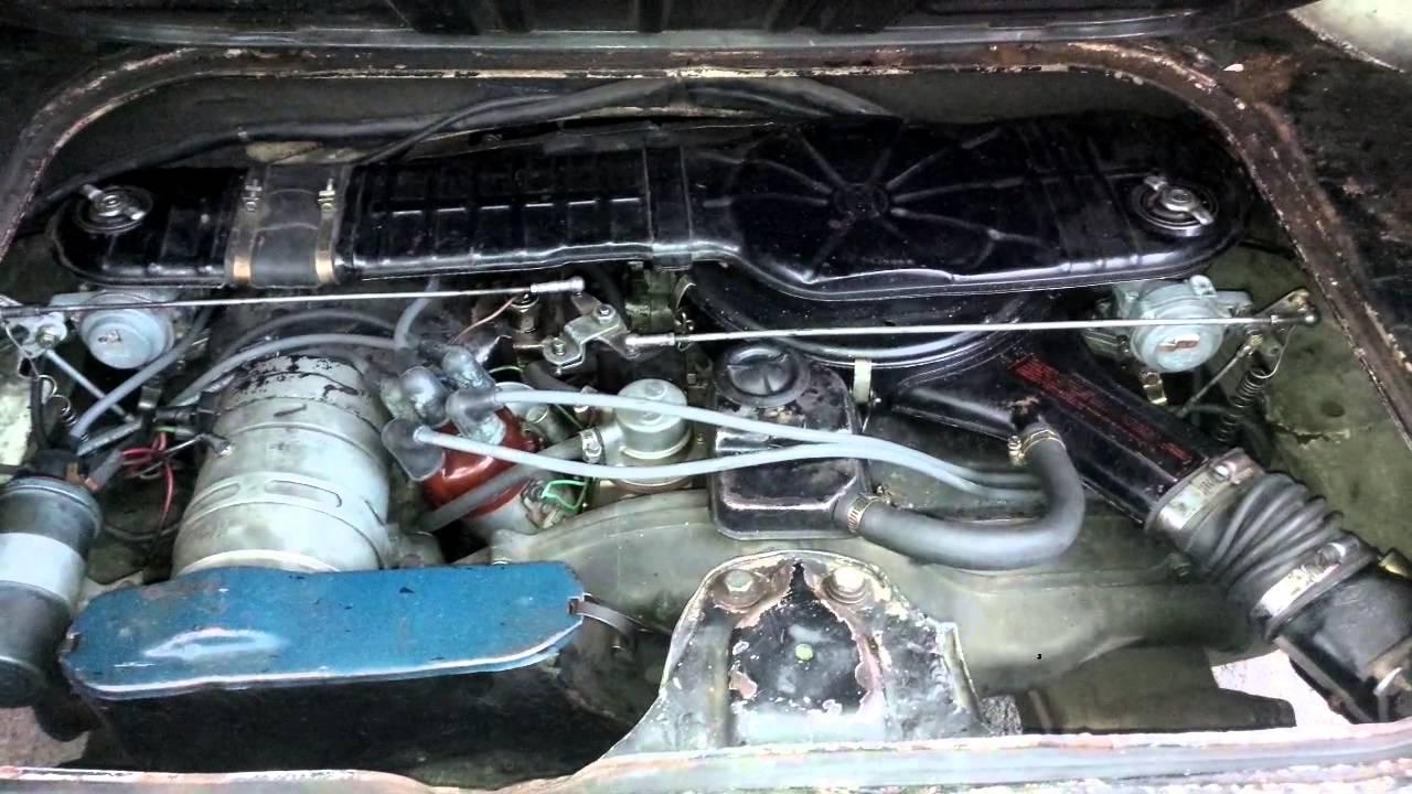 VW Fastback 1967 - Engine Type 3 1600L - Twin Solex 32 PDSIT Tunning