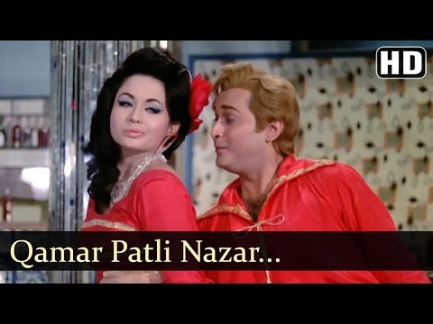 Qamar Patli Nazar Bijli - Kahin Din Kahi Raat Song - Biswajeet - Helen - Filmigaane