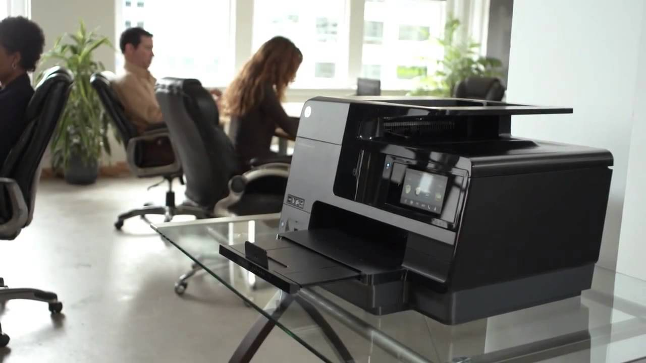 Hp Officejet Pro 8620 E All In One Printer Overview Youtube
