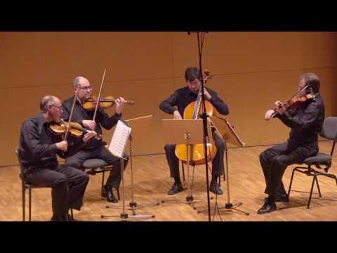 """Cuarteto Saravasti: José Nieto - """"Benito Lauret Apuntes para un cuarteto de cuerda"""""""