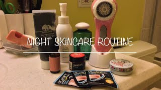 Intro and Skincare routine(Night) Thumbnail
