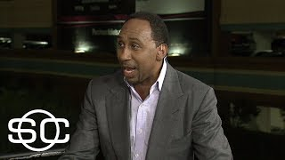 Stephen A. Smith reacts to Mayweather defeating McGregor | SportsCenter | ESPN