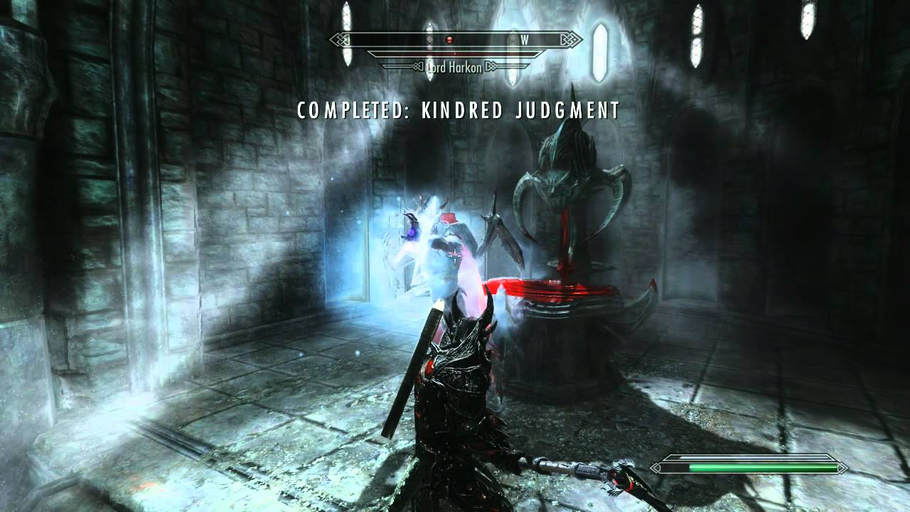 skyrim how to stop being a vampire lord
