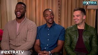 Winston Duke, Anthony Mackie & Sebastian Stan Dish on 'Avengers: Infinity War'