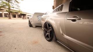 Forgestar Deep Concave CF5 Wheels on Custom Mustang